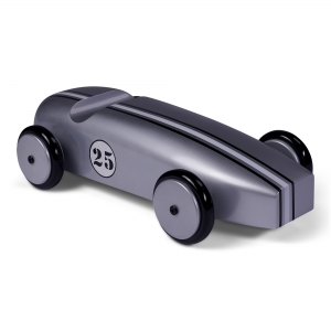 Wood Car Model, Silver - AR064