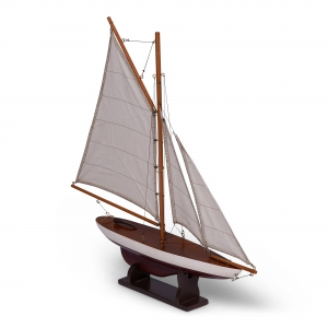 Mini Pond Yacht, Red - AS075RD